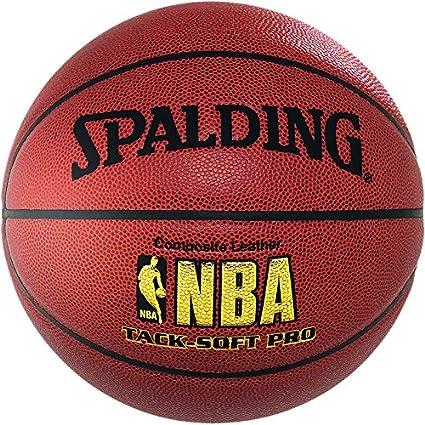 Spalding NBA Tack-Soft Pro Balón de Baloncesto, Unisex niños ...