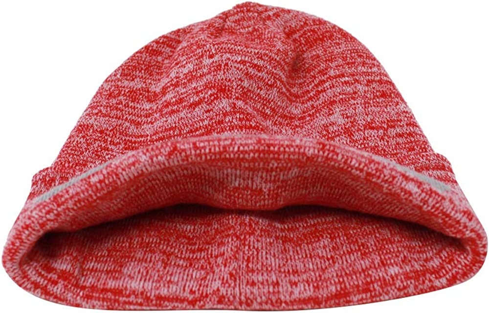 Ultra Soft Blending Football Winter Skully Hat Knit Toque Cap Classic Cuff Beanie Hat