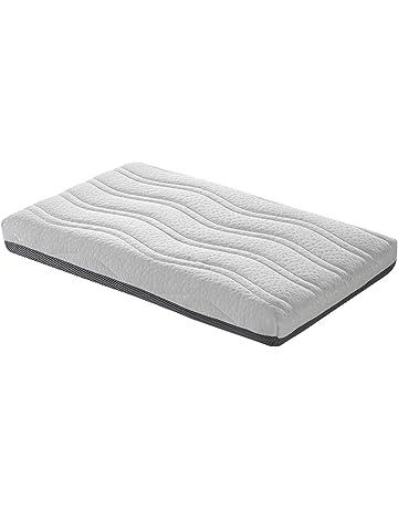 Colchon minicuna 80x50 cm Viscoelastica cara invierno/Verano 3D adaptable desenfundable Antiácaros y transpirable Fabricado
