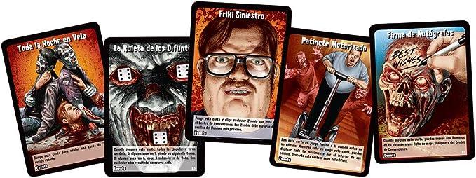 Edge Entertainment- ZombieCon, Juego de Mesa (EDGTC22): Amazon.es: Juguetes y juegos
