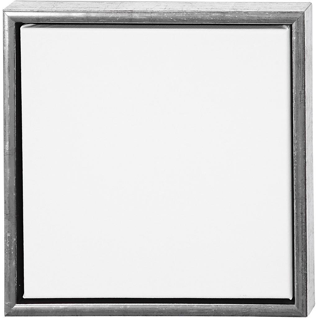 1 St/ück Tiefe 3cm Au/ßengr/ö/ße 34x34cm Leinwandgr/ö/ße 30x30cm ArtistLine Leinwand mit Rahmen