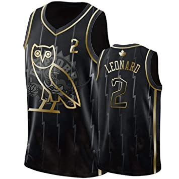 Camiseta de Baloncesto para Hombres- # 2 Leonard Raptors Sudadera ...
