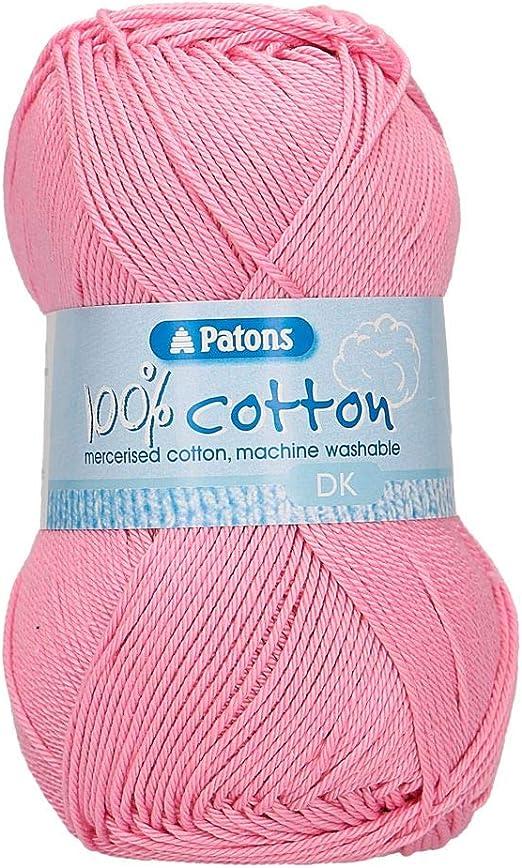 Ovillo de lana para tejer, algodón, diseño de patones, talla única ...