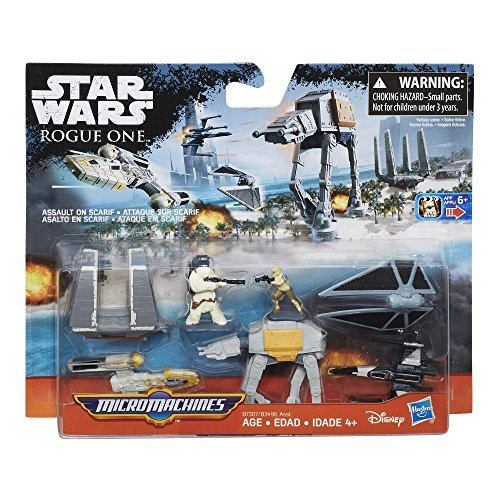 Star Wars Micro Machines - Star Wars Micro Machines Assault on Scarif (Star Wars: Rogue One) Pack
