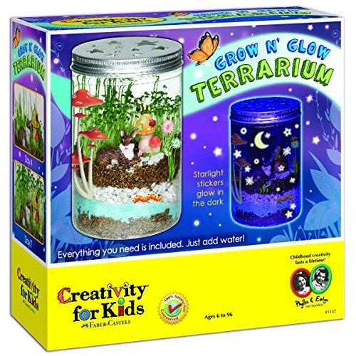 Creativity for Kids Grow 'n Glow Terrarium Faber Castell