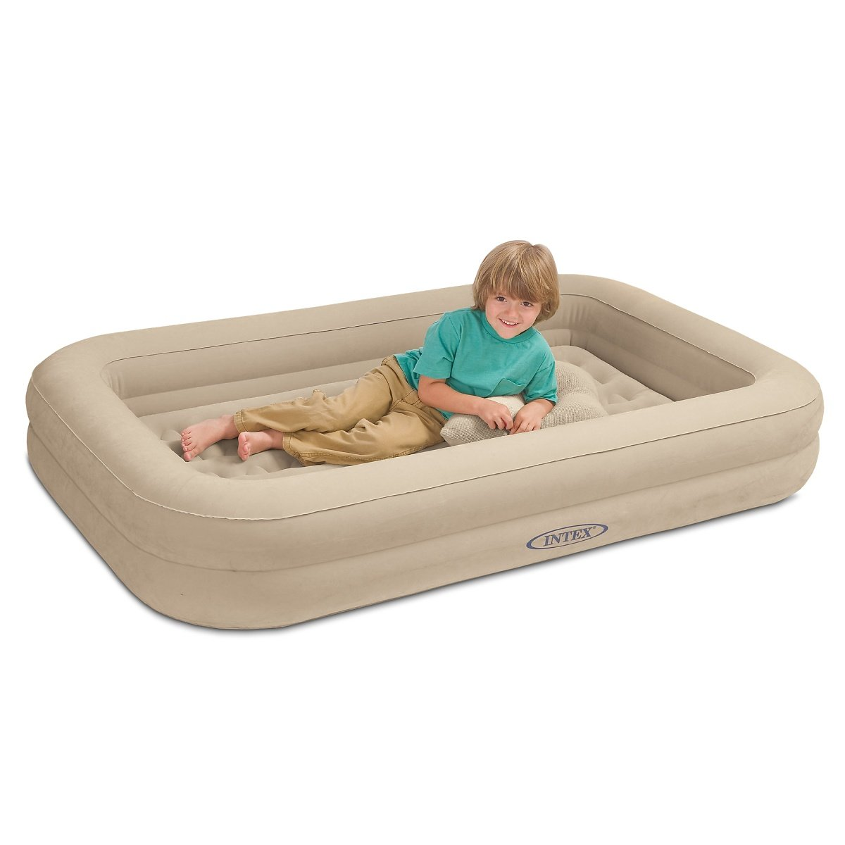 Baby bed camping - Amazon Com Intex Kidz Travel Bed With Hand Pump Health Personal Care