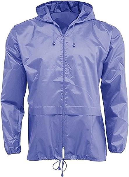 Mens Designer Windbreaker Jacket Lightweight Showerproof Outdoor Festival Coat