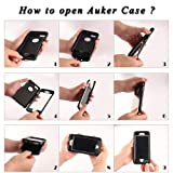 Samsung Galaxy S5 Case,S5 Clip Cover,Auker 3 in 1