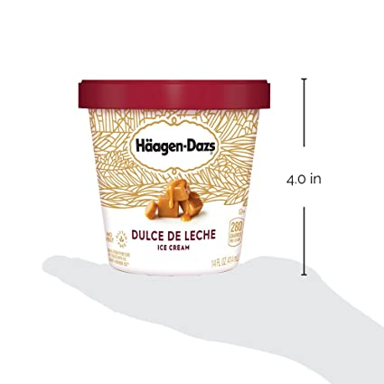 Haagen-Dazs, Dulce De Leche Ice Cream, 14 oz (Frozen): Amazon.com: Grocery & Gourmet Food
