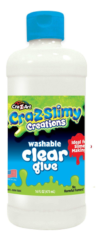Cra-Z-Art CRA-Z-Slimy 16 oz Washable Clear Glue Multi