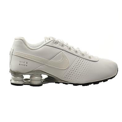 sports shoes c5822 2f4c0 NIKE Shox Deliver PNT (GS) Big Kids Shoes White White-Metallic Silver