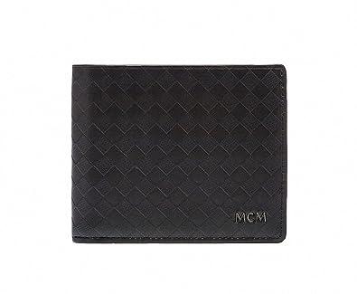buy popular b8aec 19d74 Amazon   【エムシーエム】 MCM ディアマンテ二つ折り財布メンズ ...