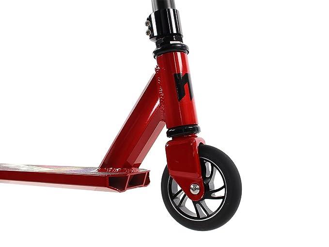 Amazon.com: Mayhem Kick & Stunt Scooter- Galaxy Rojo Pro ...