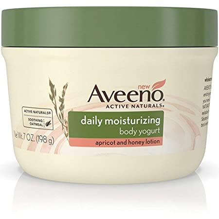Aveeno Daily Moisturizing Body Yogurt Lotion, Apricot Honey 7 oz Pack of 6