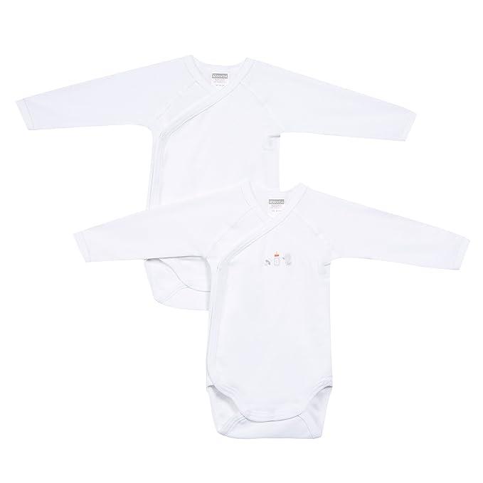 Absorba 6l62016-ra01body, Body para Bebés, Blanco (White 01) Recién ...