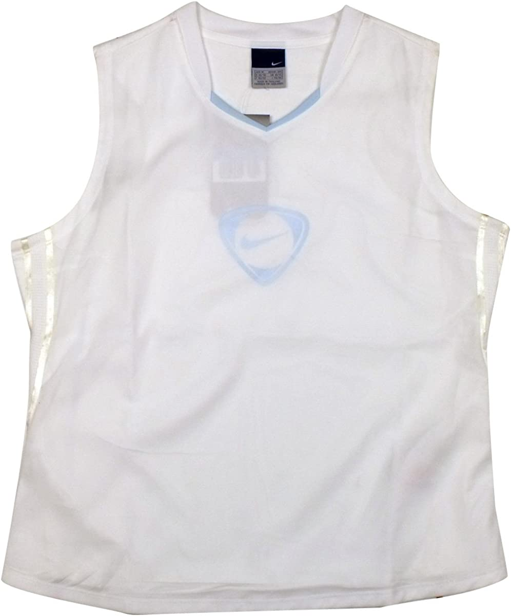 Womens Nike Football Dry Dri FIT Tank Top Vest Tee Ladies Gym Training T-Shirt