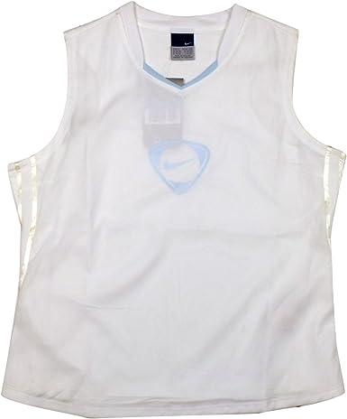 Privilegiado Egomanía Huérfano  Nike Womens Football Dry Dri FIT Tank Top Vest Tee Ladies Gym Training  T-Shirt: Amazon.co.uk: Clothing