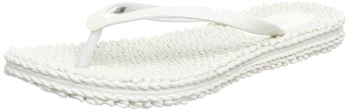 White Ilse Jacobsen Flip Flops