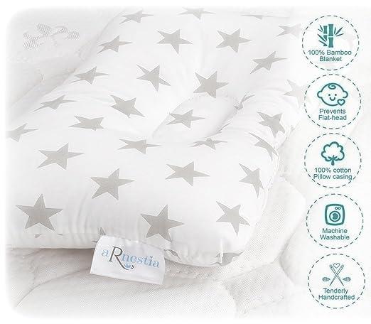 Amazon.com: Bebé Head Moldeador Funda de almohada + bambú ...
