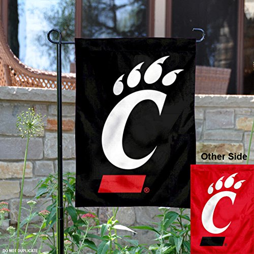 College Flags and Banners Co. Cincinnati Bearcats Garden Flag