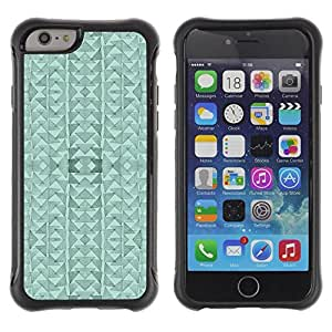 "Hypernova Defender Series TPU protection Cas Case Coque pour Apple Iphone 6 [Triángulo del Arte abstracto moderno""]"