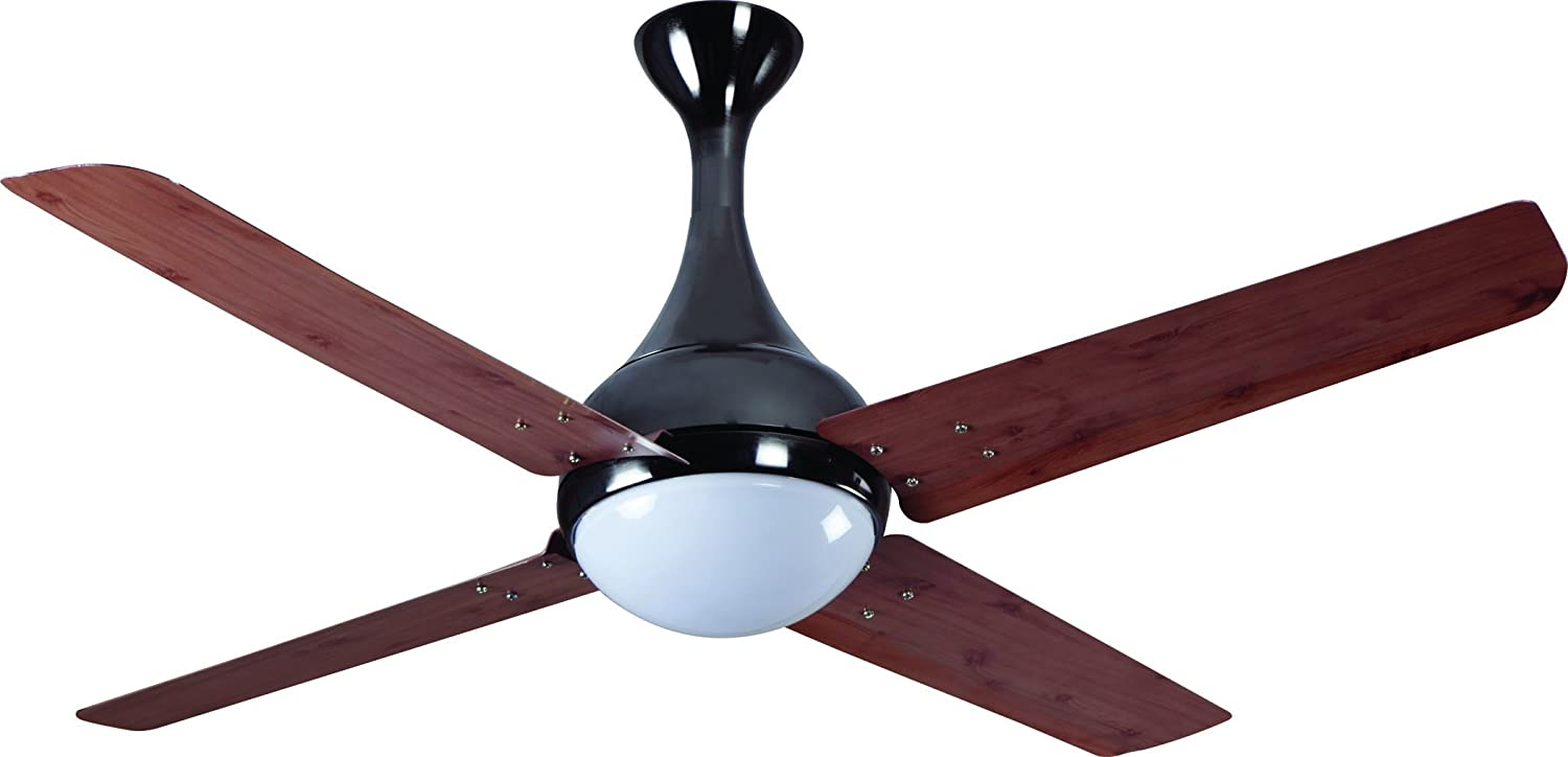 Buy havells dew 1320mm ceiling fan red oak black nickel online buy havells dew 1320mm ceiling fan red oak black nickel online at low prices in india amazon mozeypictures Image collections