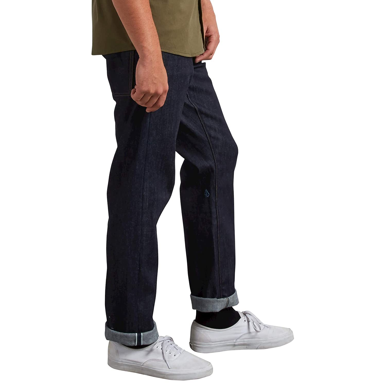 46b909cf13 Amazon.com: Volcom Men's Solver Stretch Denim Jean: Clothing
