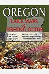 Oregon Lake Maps & Fishing Guide (Revisde & Resized) Paperback