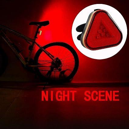 LED Bike Light Night Mountain Bicycle Waterproof Warning TailLight MTB Rear Lamp