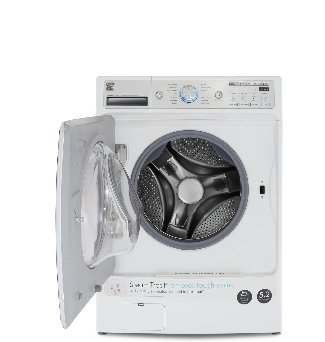 Amazon Kenmore Elite 41072 52 Cu Ft Front Load Washer With