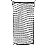 ABN Cargo Net with Fasteners and Hardware, 24 x 45in (Stretches to 60in Long) - Trailer, SUV, Motorcycle, ATV, Roof