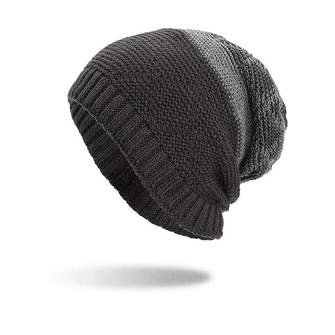 Quaan Mode Frau Männer Warm Ausgebeult Weben Häkeln Winter Wolle