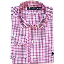 Polo Ralph Lauren Mens Poplin Checkered Button-Down Shirt
