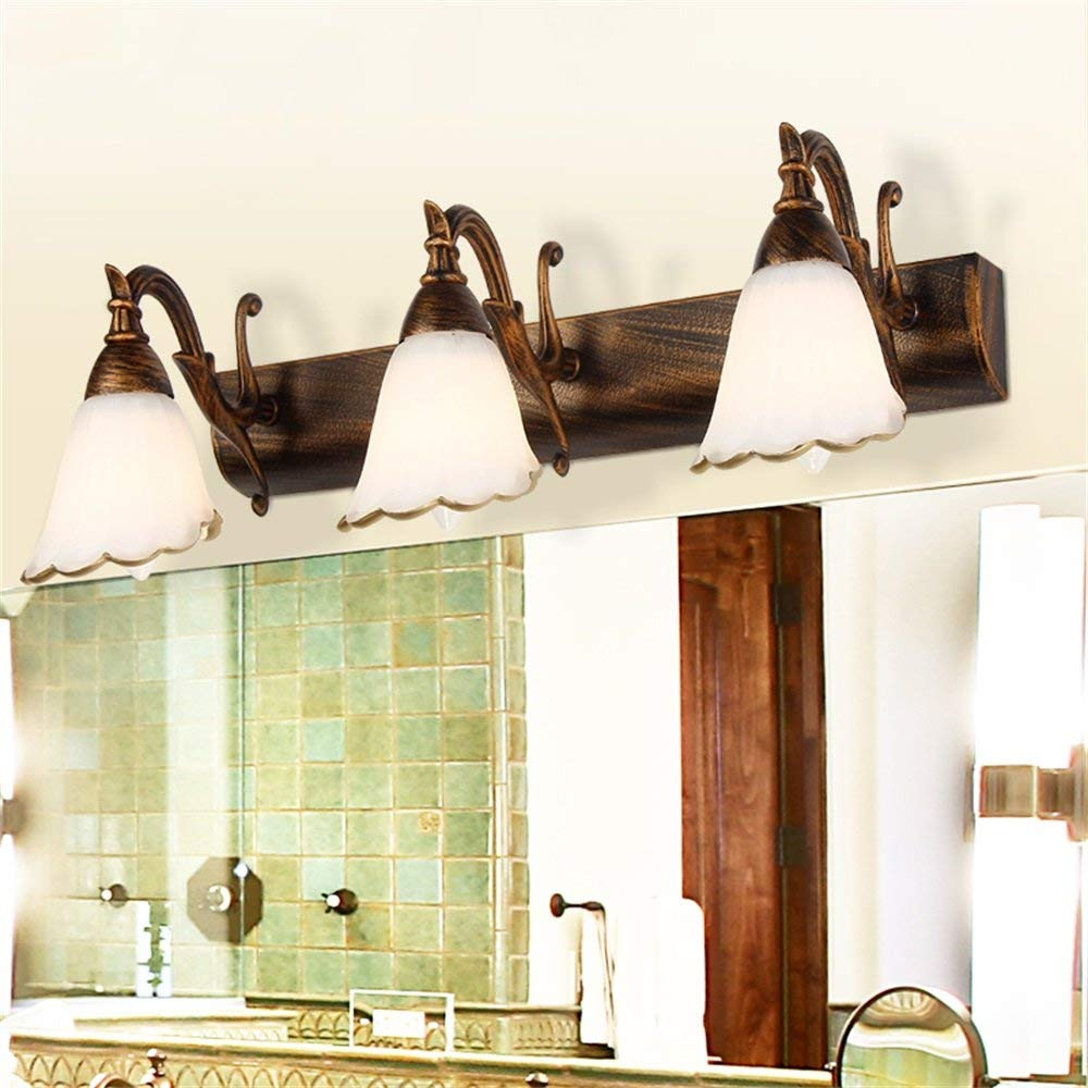 Individualität Mode kreativ, die Zimmer Restaurant Bar Lounge Flur Wand Leuchten Spiegel vorne Projektorlampe Badezimmer spiegel Lampen  drei Bands (Farbe)