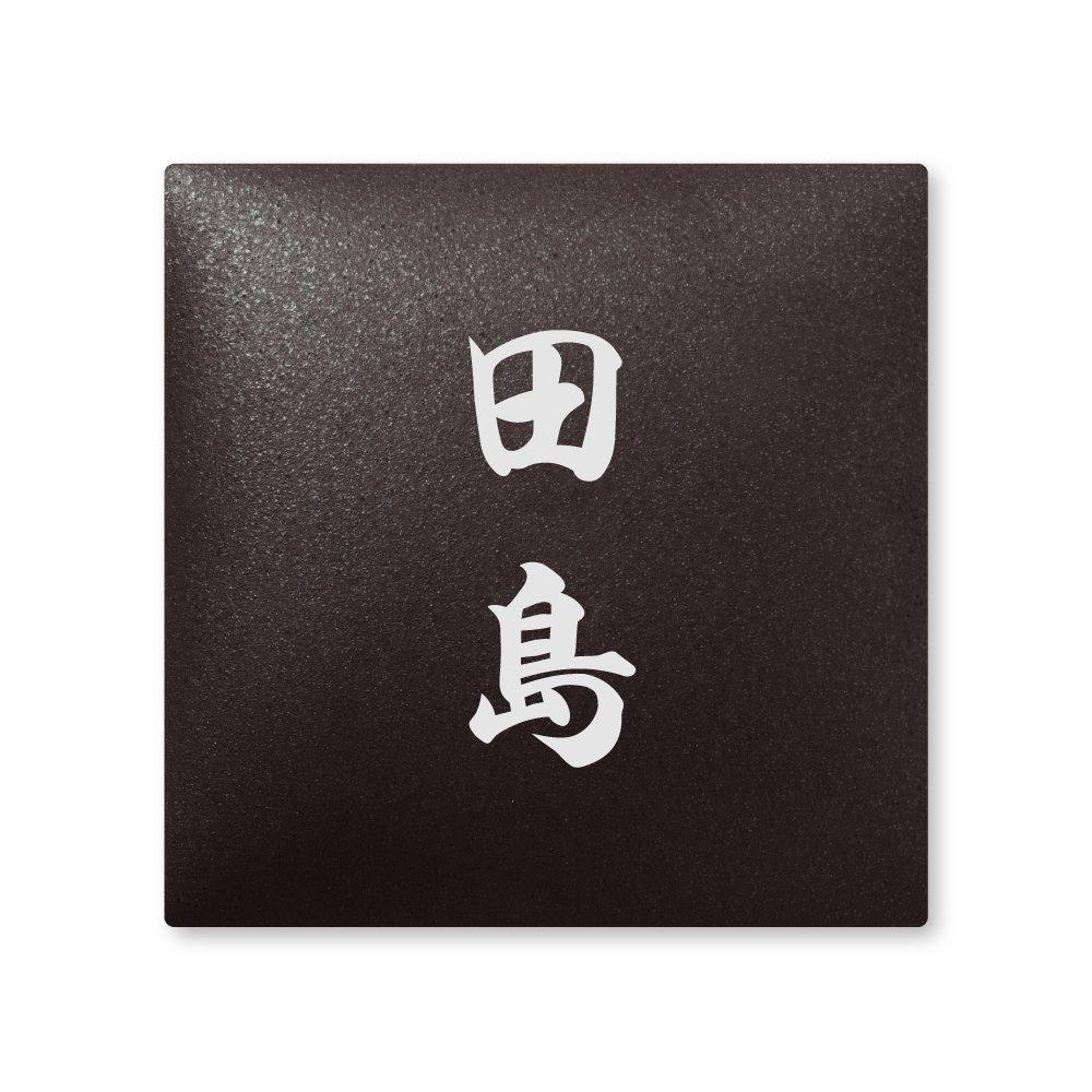 丸三タカギ 彫り込み済表札 【 田島 】 完成品 アークタイル AR-2-2-4-田島   B00RFFQM3C