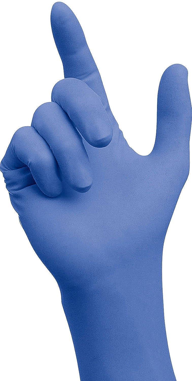 Nitryl SCHUTZHANDSCHUHE RNIT-SEM-XPERT 100PK S-XL Einweg Handschuhe Puderfrei Gr/ö/ße L