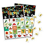 Cinco de Mayo Bingo Game - Fiesta Mexican Birthday Party Supplies (24 Players)