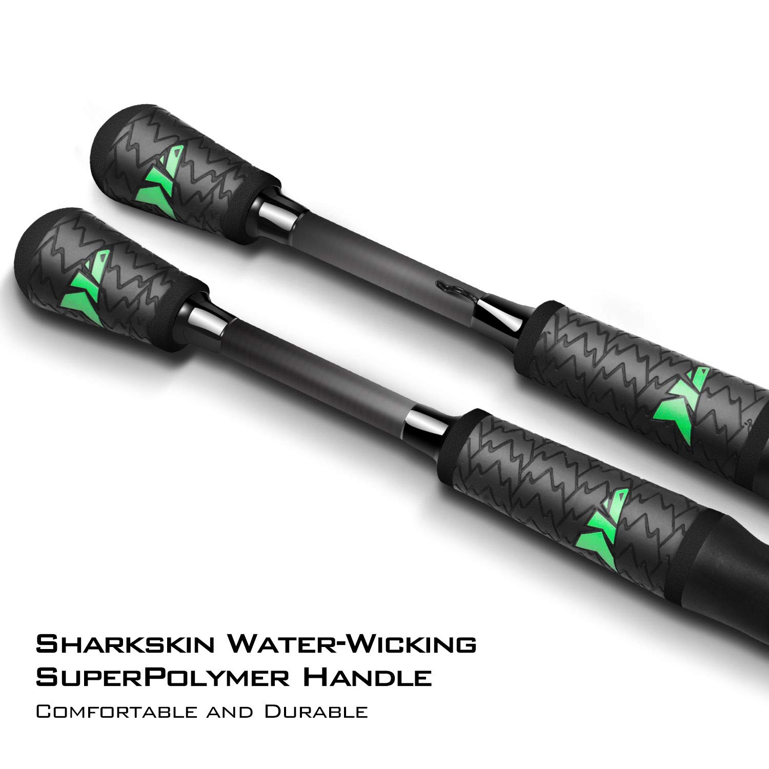 Ultra-Sensitive IM7 Carbon Fishing Rod Blanks American Tackle 2pc Bravo Reel Seat 2pc Designs Spinning Rods /& Casting Rods KastKing Resolute Fishing Rods American Tackle Guides