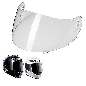 Pantalla protectora homologada para cascos de moto integrales AGV K3 y K4, color transparente,