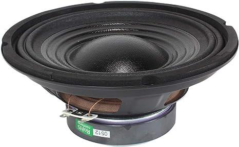 """2x Monacor SP-202PA 8/"""" Spare Replacement Parts Mid Range Speaker Drivers 200W"""