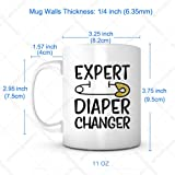 Expert Diaper Changer-New Parents Gifts,Fathers Day Gifts,Baby Shower Favors,Appreciation Gifts For Women,Adult Party Favors,Babysitter Gifts,Family Gifts,Caregiver Gifts,New Grandparents Gifts