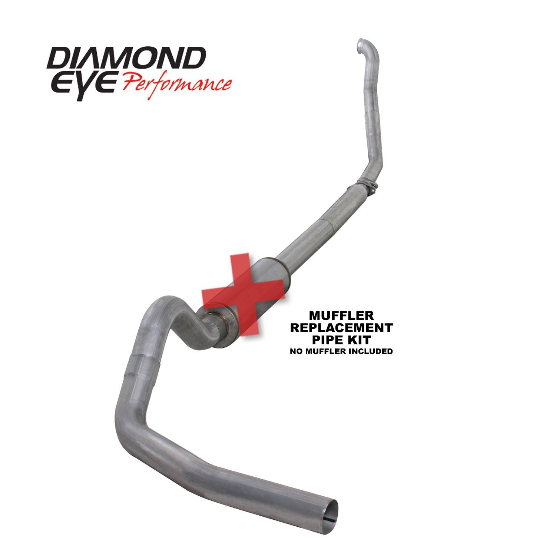 Diamond Eye Performance K4307A-RP   Aluminized Performance Diesel Exhaust Kit DEPK4307A-RP