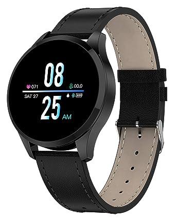 926a2acc05 Amazon   スマートウォッチ スマート腕時計 活動量計 メンズ 心拍血圧 ...