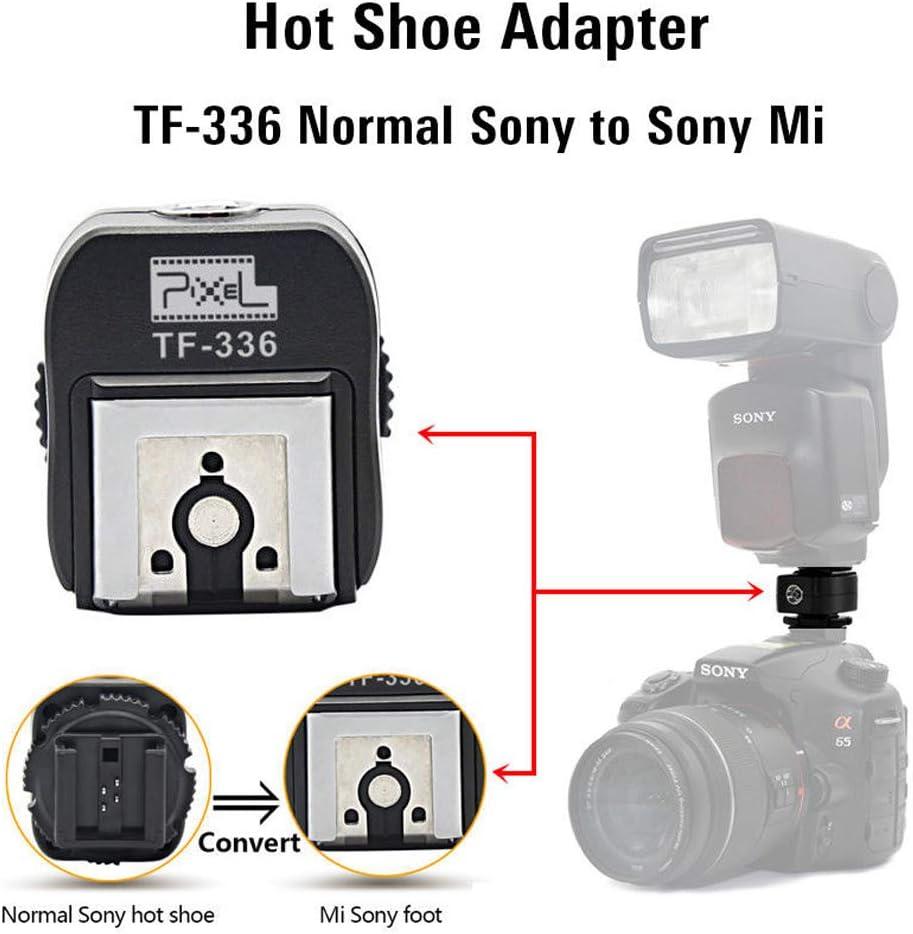 Market&YCY TF-336 Adaptador de Zapata para convertir cámaras Sony ...