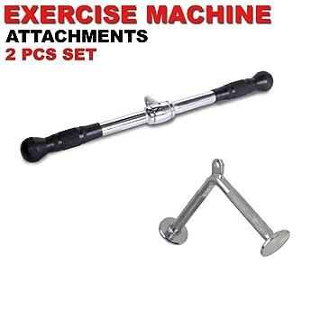 Fitness Maniac Home Gym Attachments Machine Handle Accessories Press