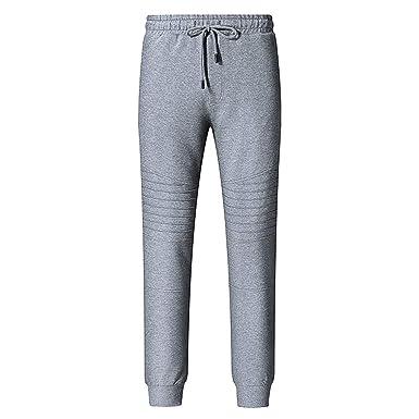 165112f4d5383 Moonuy 2019 Homme Pantalon Jogging Sarouel Survêtement Sweat Pants Sport  Longue Slim Fit: Amazon.fr: Vêtements et accessoires