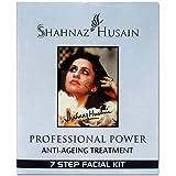 Shahnaz Husain's Vedic Solution 7 Step Anti Ageing Treatment Facial Kit, Green, 63g