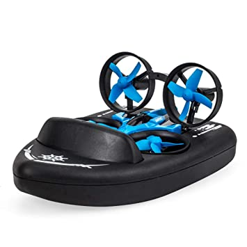 GreatFun JJR / C H36F Terzetto 3 en 1 Flying Air Boat Modo de ...