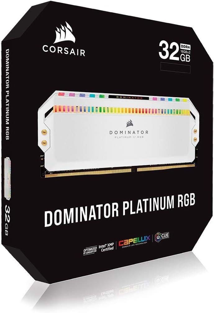 Corsair Dominator Platinum Rgb Kit 32gb Ddr4 4000 C19 Computers Accessories