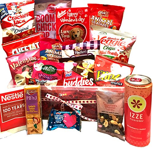 Valentines Gift - Valentines Care Package - Campus Care Package - Valentines Movie Night - Lots of Selections (Valentines Snack Pack)